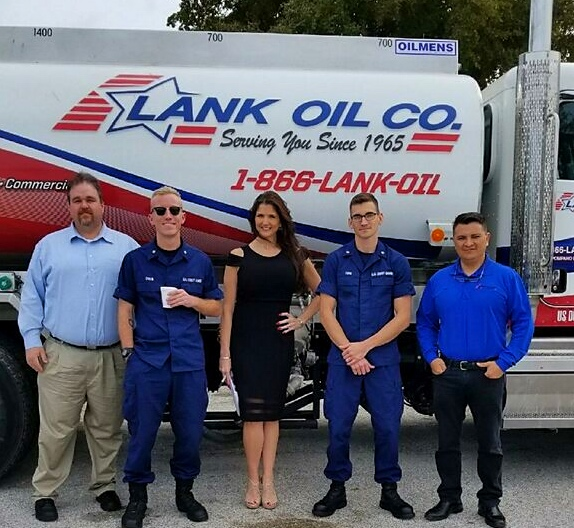 Lank Oil Passes United States Coast Guard Inspection